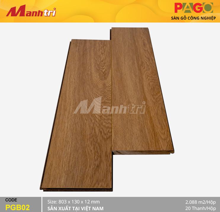 Sàn gỗ Pago PGB02