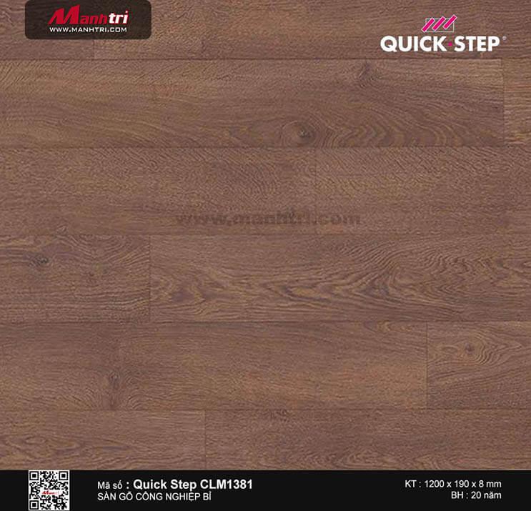 Sàn gỗ công nghiệp Quick Step CLM 1381
