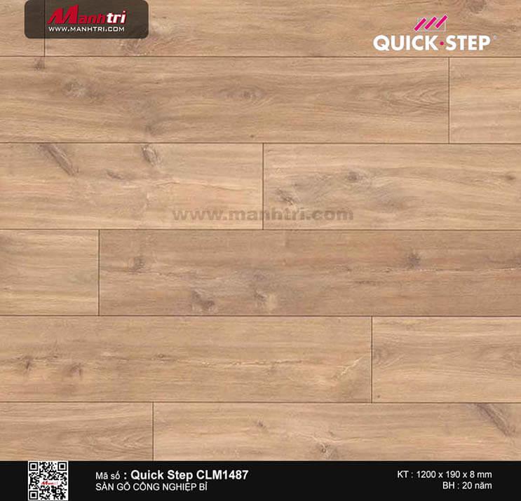 Sàn gỗ công nghiệp Quick Step CLM 1487