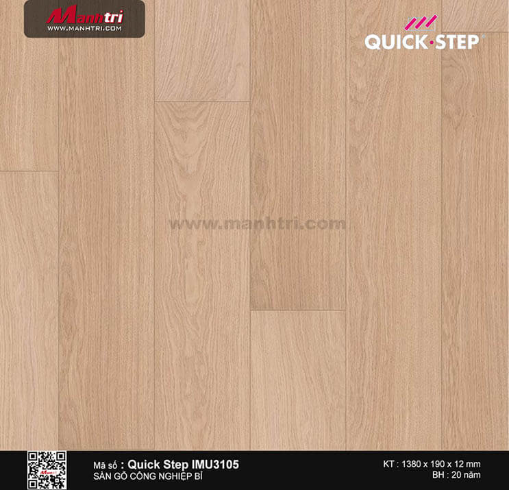 Sàn gỗ công nghiệp Quick Step IMU3105