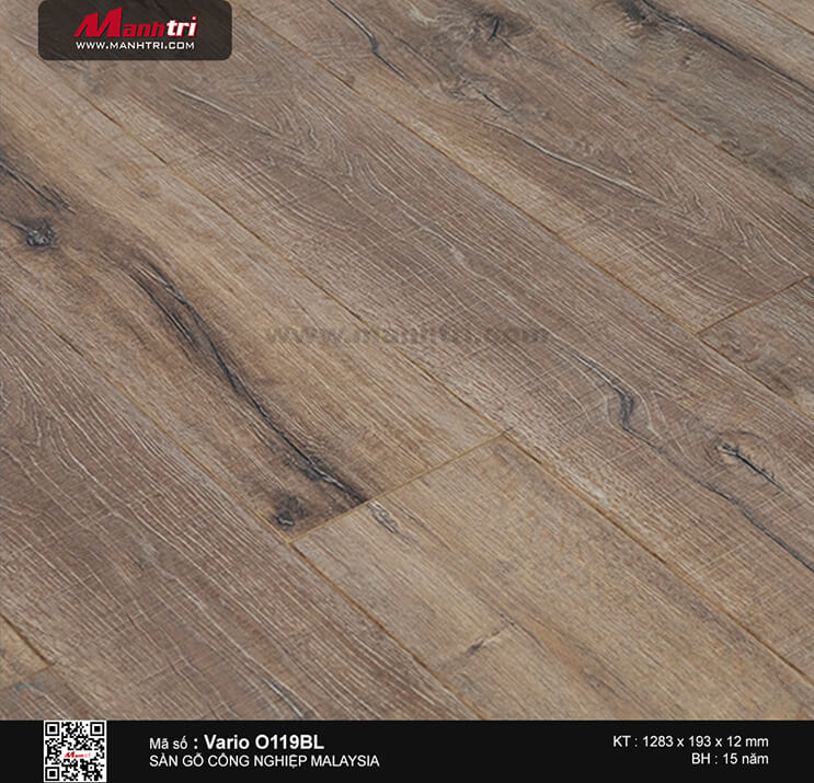 Sàn gỗ công nghiệp Vario O119BL