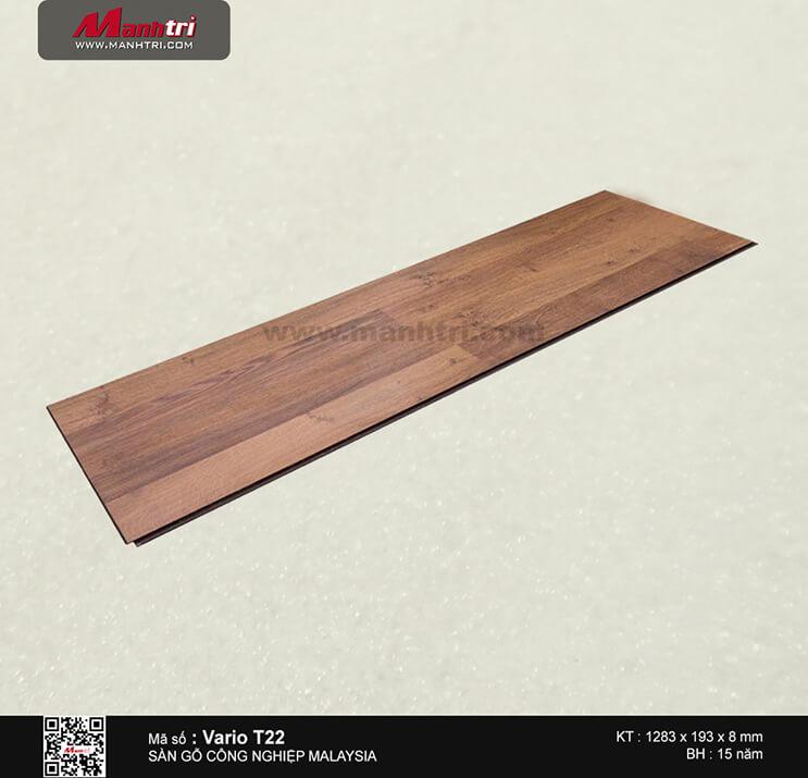 Sàn gỗ công nghiệp Vario T22