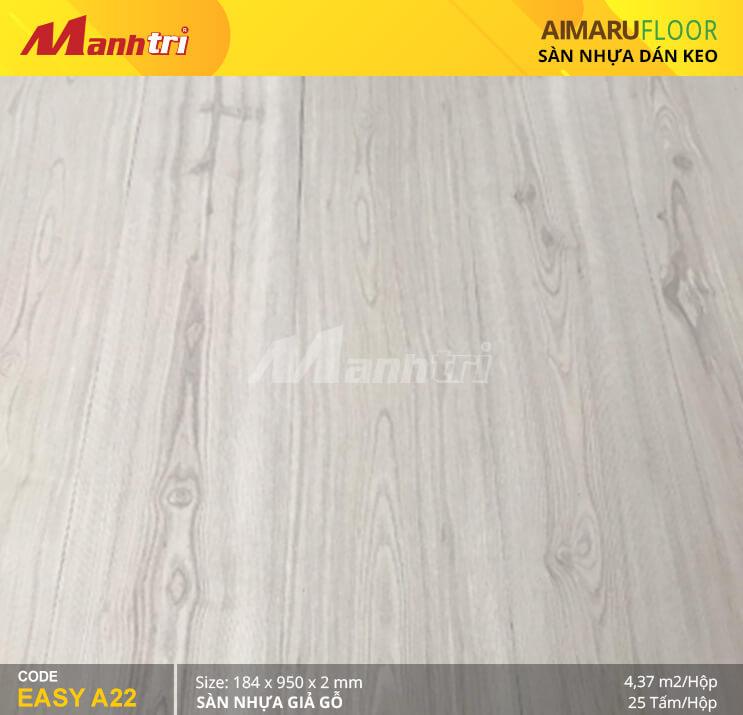 Sàn nhựa giả gỗ Aimaru EASY A22