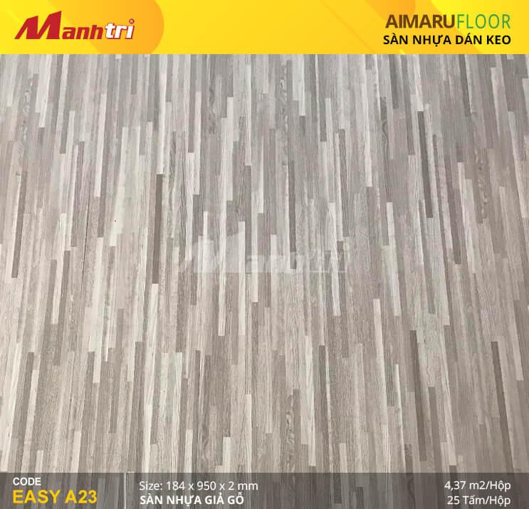 Sàn nhựa giả gỗ Aimaru EASY A23