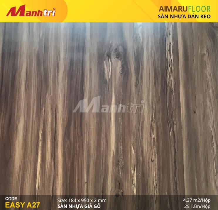 Sàn nhựa giả gỗ Aimaru EASY A27