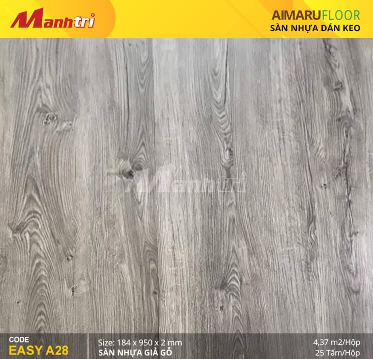 Sàn nhựa giả gỗ Aimaru EASY A28