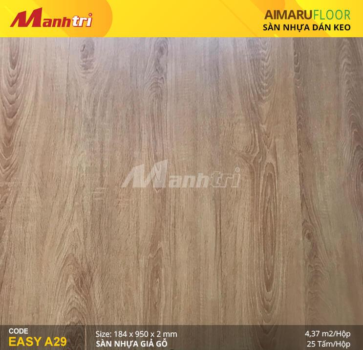 Sàn nhựa giả gỗ Aimaru EASY A29