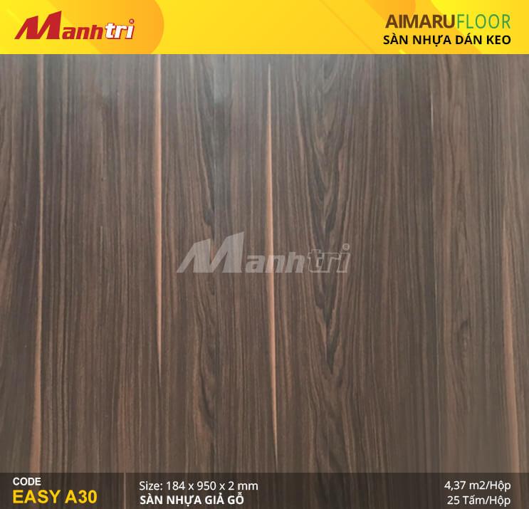 Sàn nhựa giả gỗ Aimaru EASY A30