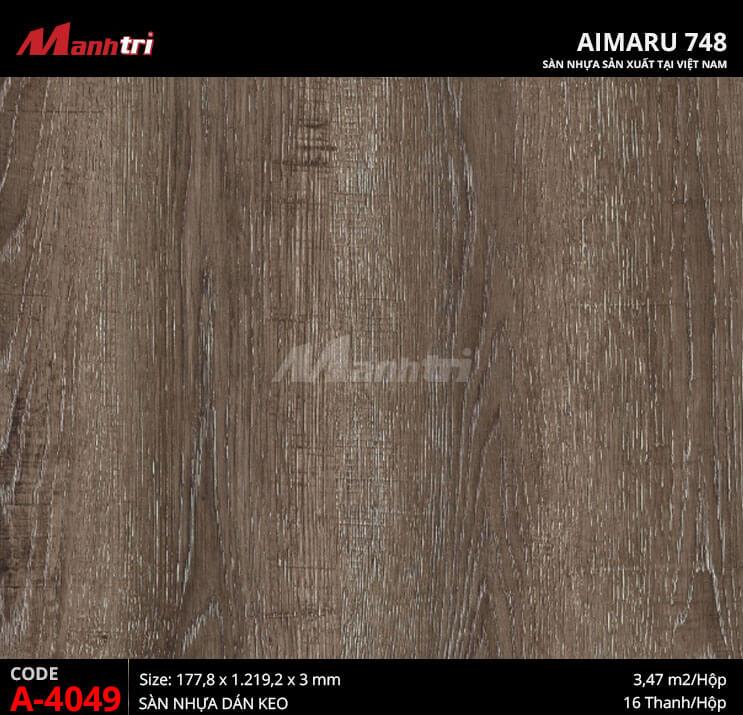 Sàn nhựa Aimaru 748 A-4049