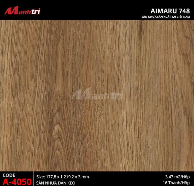 Sàn nhựa Aimaru 748 A-4050