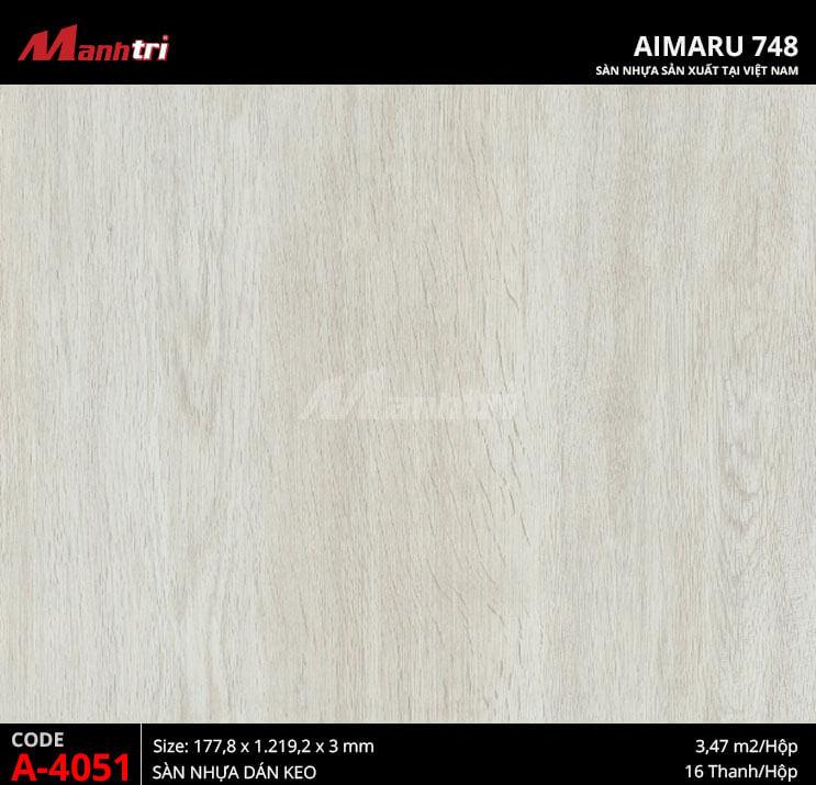 Sàn nhựa Aimaru 748 A-4051
