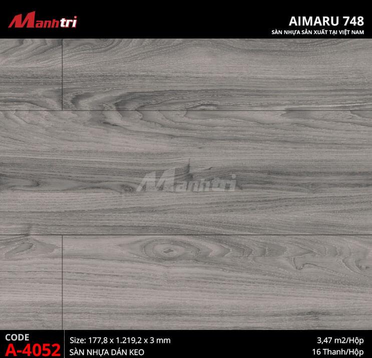 Sàn nhựa Aimaru 748 A-4052