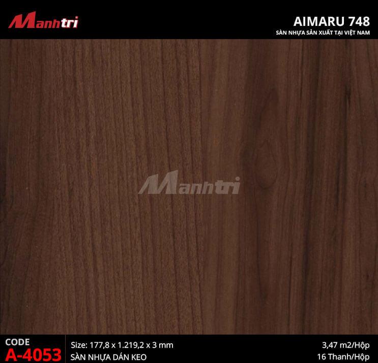 Sàn nhựa Aimaru 748 A-4053