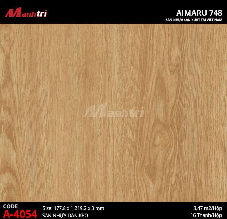 Sàn nhựa Aimaru 748 A-4054