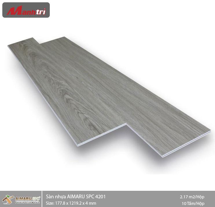 Sàn nhựa hèm khóa Aimaru SPC 4201