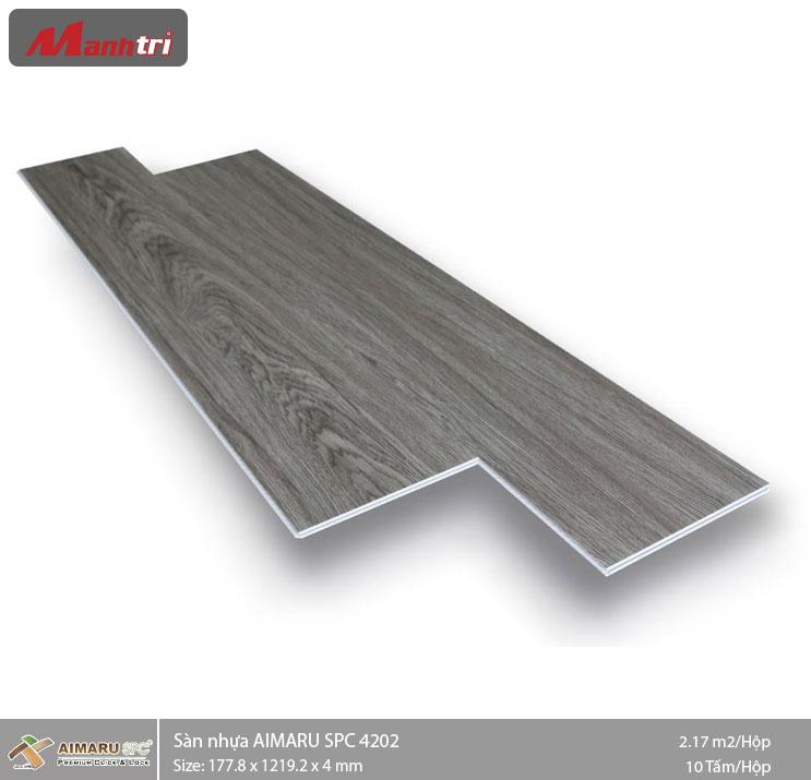 Sàn nhựa hèm khóa Aimaru SPC 4202