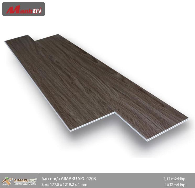 Sàn nhựa hèm khóa Aimaru SPC 4203