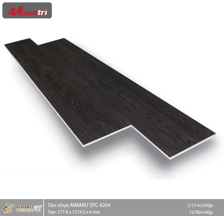 Sàn nhựa hèm khóa Aimaru SPC 4204