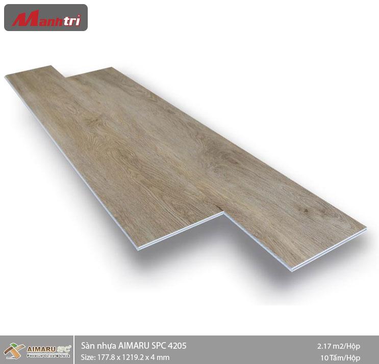 Sàn nhựa hèm khóa Aimaru SPC 4205