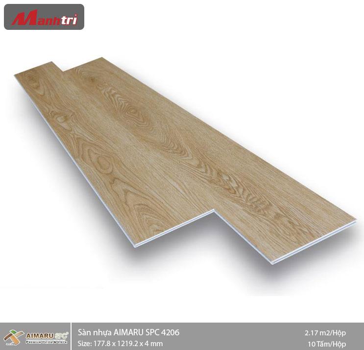 Sàn nhựa hèm khóa Aimaru SPC 4206