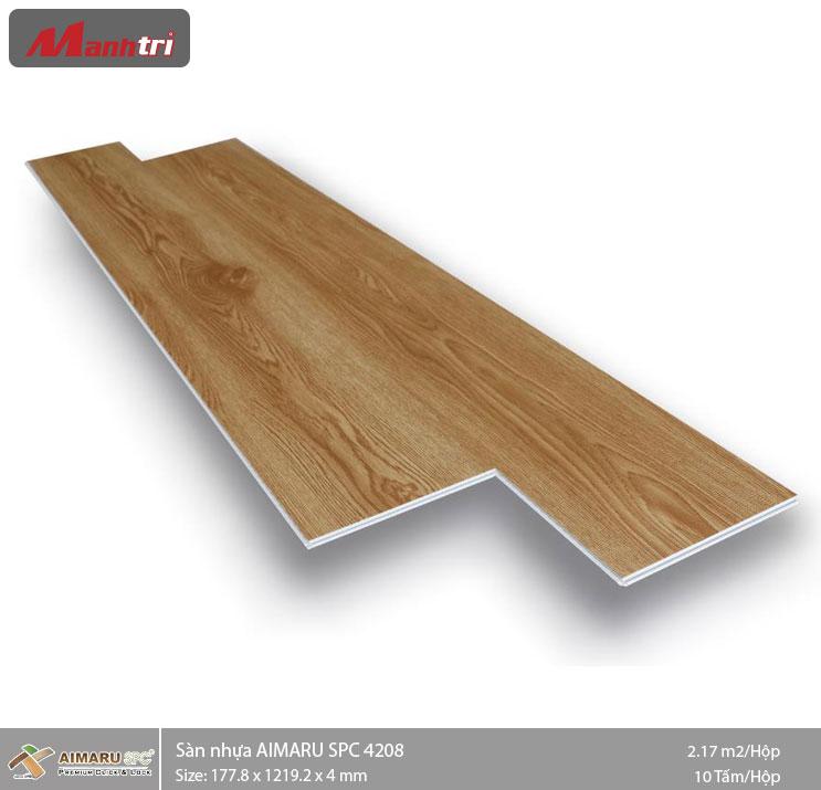 Sàn nhựa hèm khóa Aimaru SPC 4208