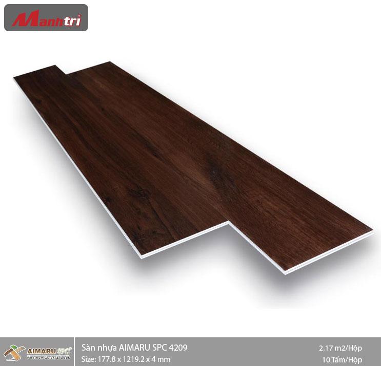Sàn nhựa hèm khóa Aimaru SPC 4209