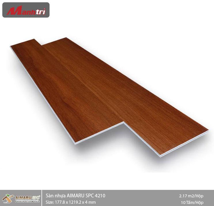 Sàn nhựa hèm khóa Aimaru SPC 4210