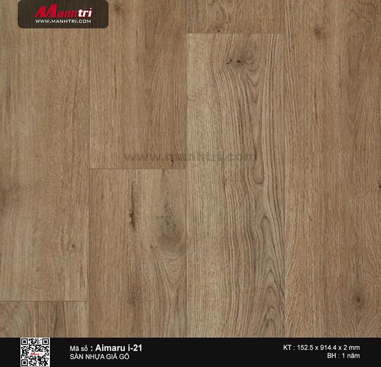 Sàn nhựa giả gỗ i:maru i-21