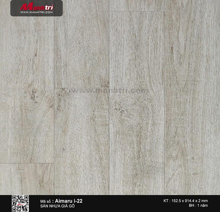 Sàn nhựa giả gỗ i:maru i-22