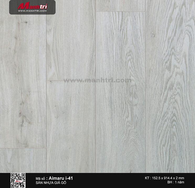 Sàn nhựa giả gỗ i:maru i-41