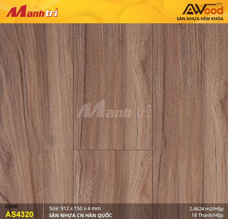 Sàn nhựa Awood SPC AS4320