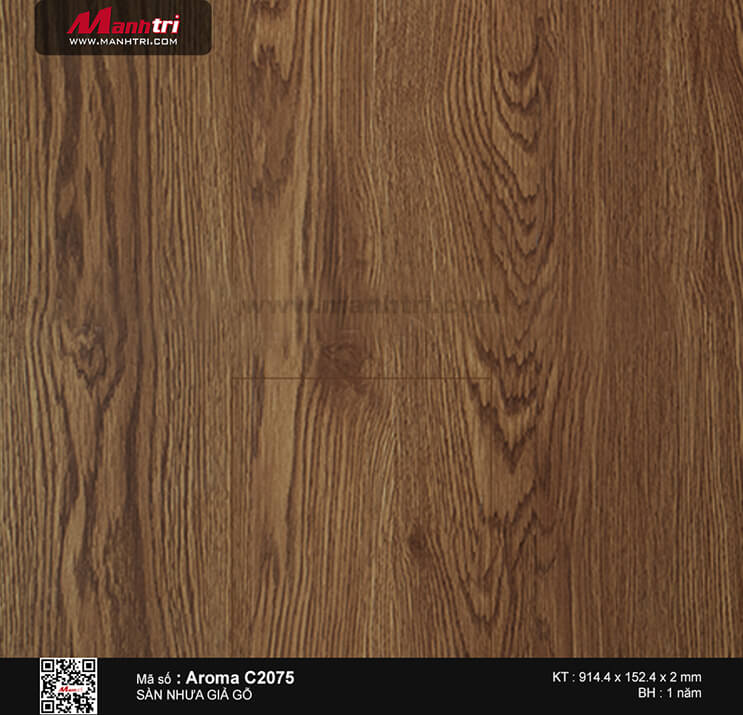 Sàn nhựa Aroma C 2075