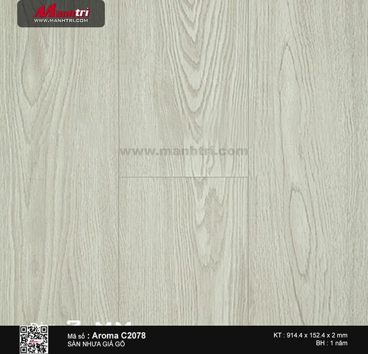 Sàn nhựa  Aroma C 2078