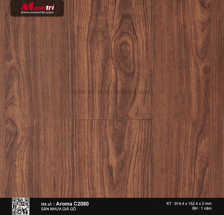 Sàn nhựa Aroma C 2080