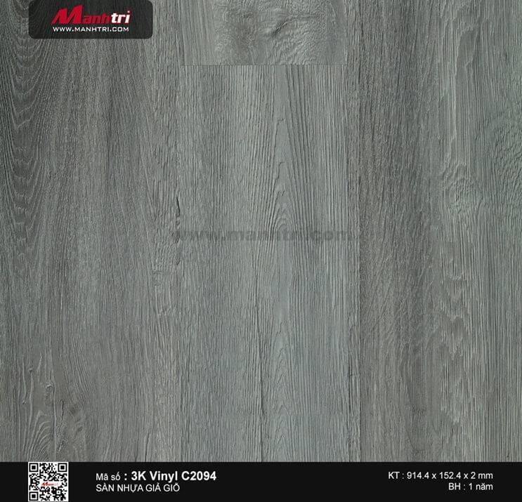 Sàn nhựa giả gỗ 3K Vinyl C2094