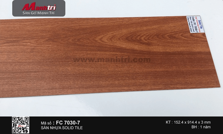 Sàn nhựa Solid Tile FC 7030-7