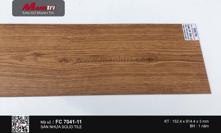 Sàn nhựa Solid Tile FC 7041-11