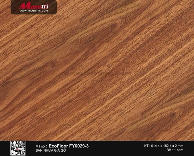 Sàn nhựa giả gỗ Ecofloor FY6029-3