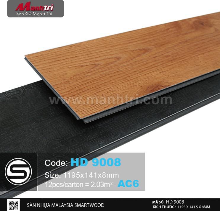 Sàn nhựa hèm khóa SmartWood 9008