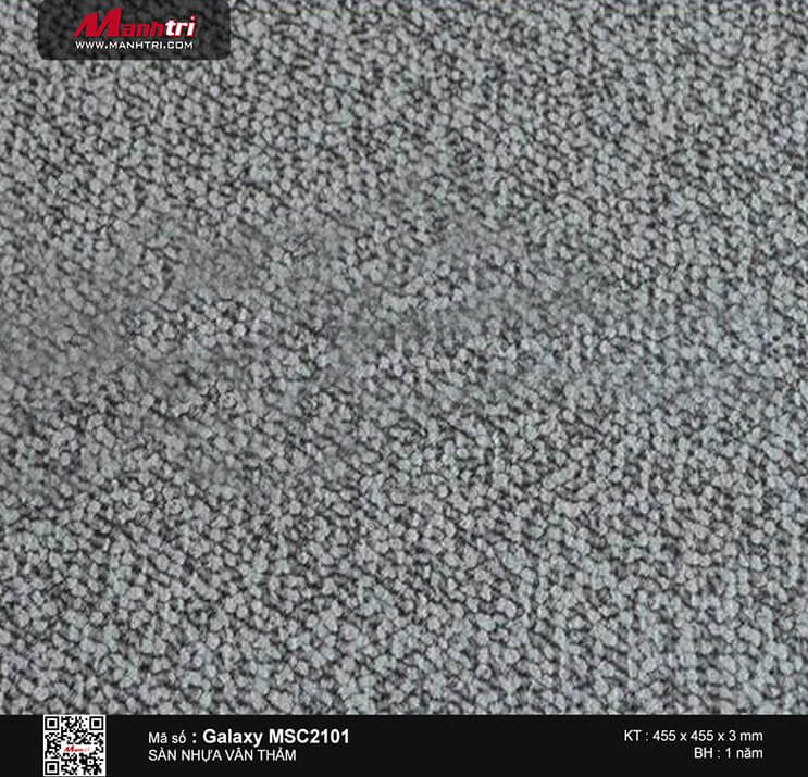 Sàn nhựa vân thảm Galaxy MSC 2101