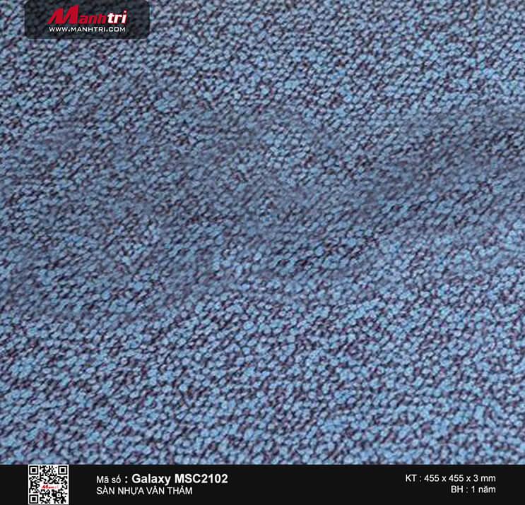 Sàn nhựa vân thảm Galaxy MSC 2102