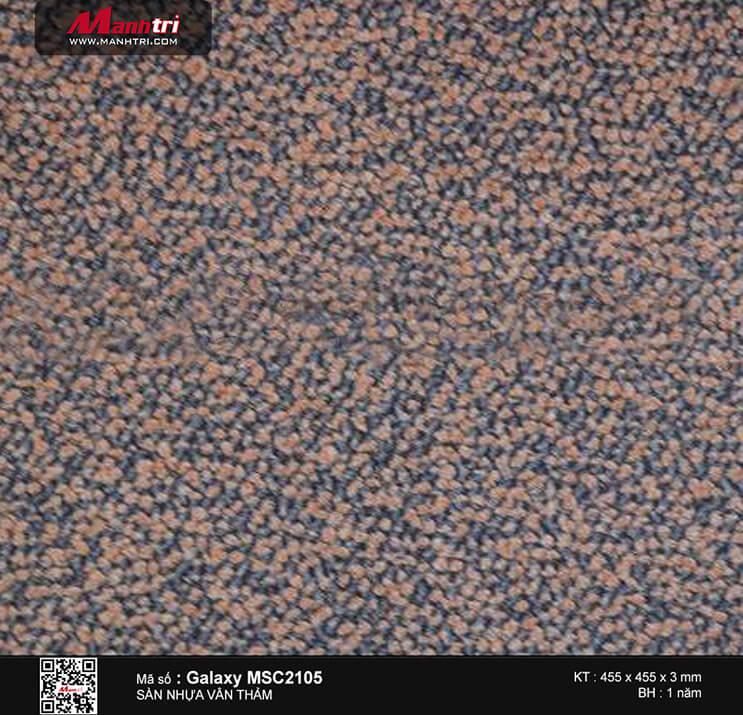Sàn nhựa vân thảm Galaxy MSC 2105