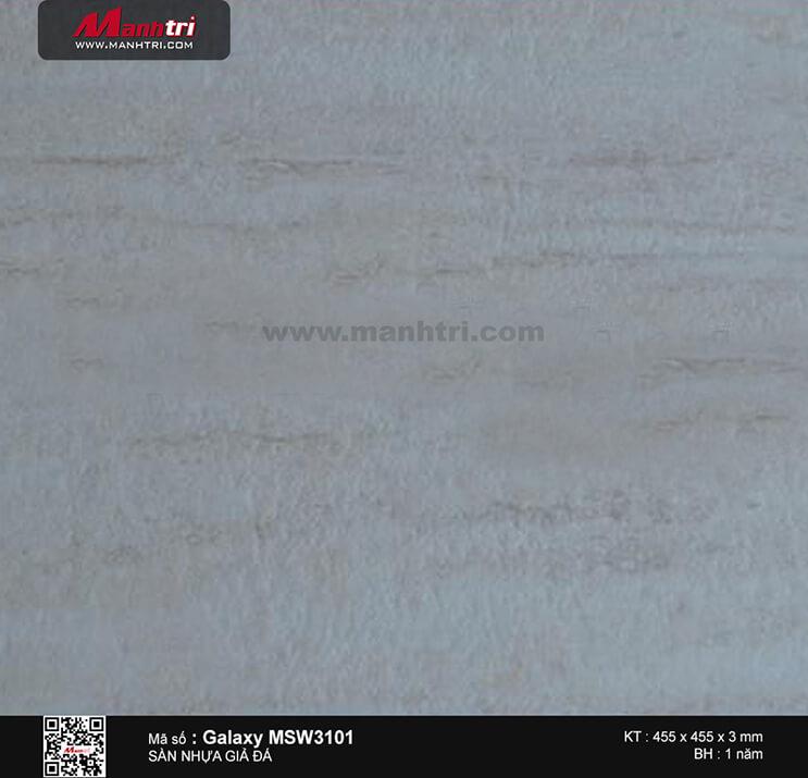 Sàn nhựa giả đá Galaxy MSW 3101
