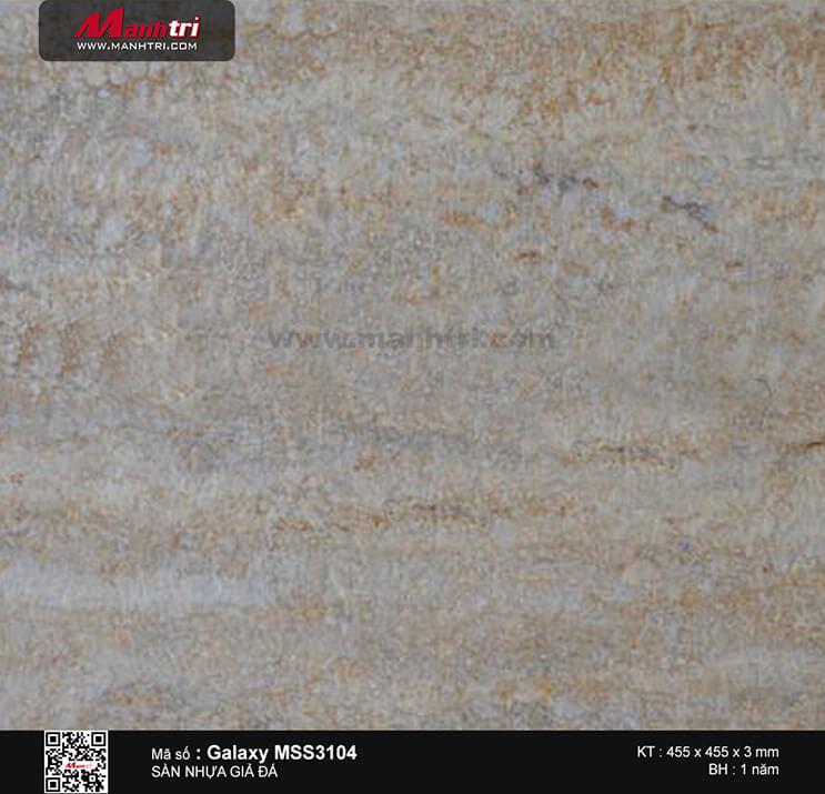 Sàn nhựa giả đá Galaxy MSS 3104
