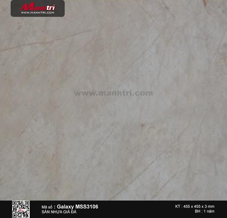 Sàn nhựa giả đá Galaxy MSS 3106