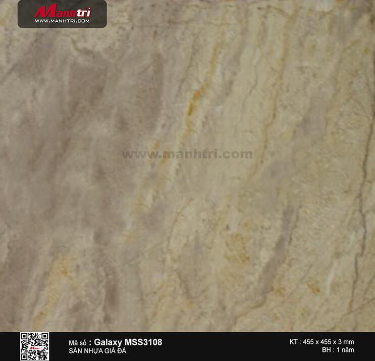 Sàn nhựa giả đá Galaxy MSS 3108