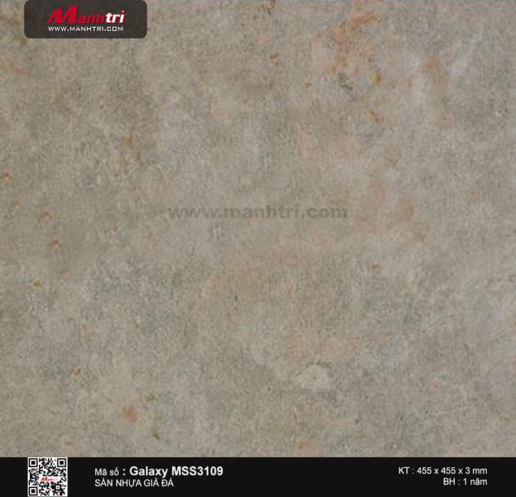 Sàn nhựa giả đá Galaxy MSS 3109