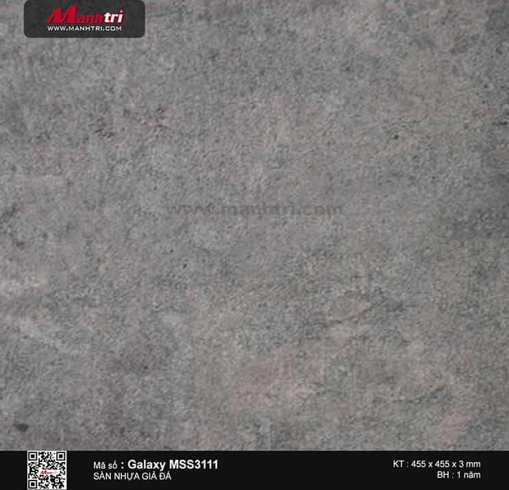 Sàn nhựa giả đá Galaxy MSS 3111