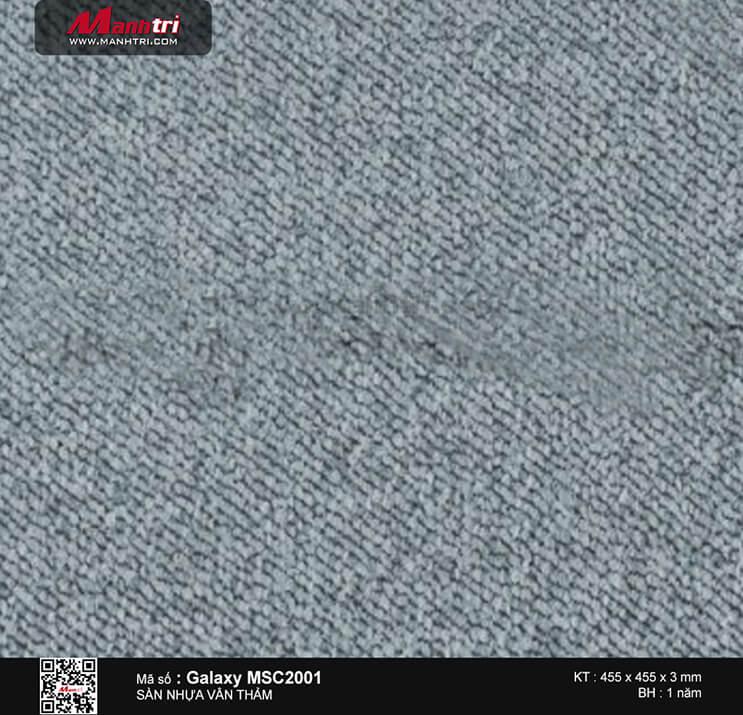Sàn nhựa vân thảm Galaxy MSC 2001