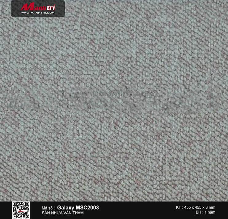 Sàn nhựa vân thảm Galaxy MSC 2003